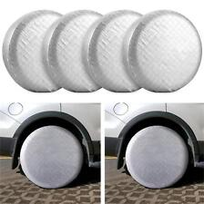 "27-29"" Set Of 4 Wheel Tire Covers For RV Trailer Camper Car Truck And Motor Home"