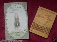 A Child's Garden of Verses Books Vintage Robert Louis Stevenson 1966 & 1963