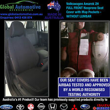 Volkswagen Amarok 2H Front Neoprene Car Seat Covers - WITHOUT LUMBAR