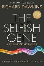 The Selfish Gene. 40th Anniversary edition by Dawkins, Richard (Paperback book,