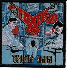 TOXIK - Think This - Woven Patch / Aufnäher
