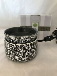 "Scentsy Wax Warmer ""DOODLE DOT"" Polka Dot - NEW - FREE SHIPPING!"