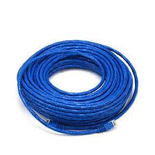 75FT Blue High Quality Cat6 550MHz UTP RJ45 Ethernet Bare Copper Network Cable