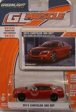 RED 2013 CHRYSLER 300SRT GREENLIGHT  1:64 SCALE DIECAST METAL MODEL CAR