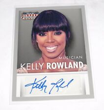 2015 Americana KELLY ROWLAND Gray Border Autograph DESTINY'S CHILD - Simply Deep