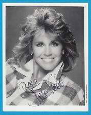 Jane Fonda-Original signé großfoto-Double Oscar-lauréate du Prix