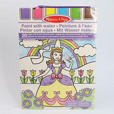 Melissa & Doug Paint with Water Princess - 20 Pages to Paint #4166