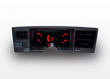 1988 - 1991 Chevy Truck Digital Dash Panel Cluster Gauges Red LEDs Intellitronix