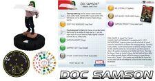 DOC SAMSON #030 #30 The Incredible Hulk HeroClix Rare