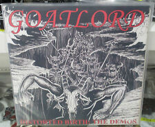 Goatlord Distorted Birth: The Demos  Vinyl 3 LP Set  Black Metal