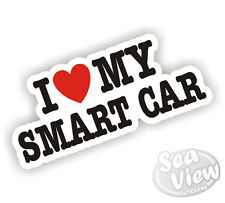 I Heart Love My Smart Car Roadster SMARTCAR Sticker Decal