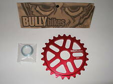 BULLY BMX GEAR 28T RED