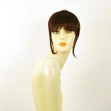 frange à clips peruk cheveux châtain foncé cuivré ref: 20 en 31