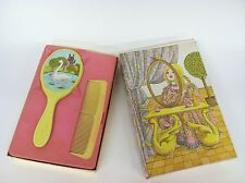 """Vintage AVON """"Her Prettiness"""" Brush & Comb Set Complete - NEW IN BOX!"""