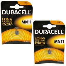 2x 1 Duracell MN11 6V Alkaline Battery - 11A A11 GP11A L1016 CX21A E11A Security