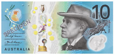 2017 AUSTRALIA NEW NEXT GENERATION $10 NOTE - CRISP & BRAND NEW!!!!!!!!!!!