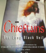 plakat poster The CHIEFTAINS Irlandia 48x68  LP The Long Black Veil (dancop)