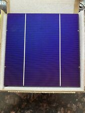 "100 Brand New Solar Cells 6"" x 6"" 2BB 18% EFF 400 Watts"
