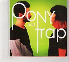 (HF98) Pony And Trap, 4 track sampler - Ltd Ed Signed DJ CD