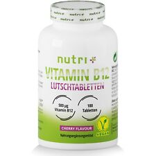 Vitamin B12 Lutschtabletten Methylcobalamin hochdosiert   vegane B 12 Tabletten