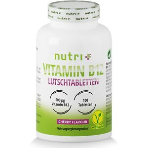 Vitamin B12 Lutschtabletten Methylcobalamin hochdosiert | vegane B 12 Tabletten