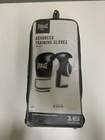 Everlast Advanced Pro Style Training Gloves (Black, 16 oz.)
