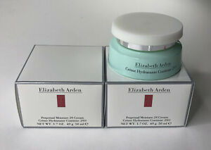 Lot Of 2 Elizabeth Arden Perpetual Moisture 24 Cream 50 ml, 1.7 oz NEW in BOX