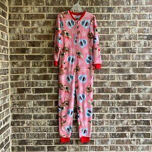 RUDOLPH RED NOSE ~ One Pc Union Suit Jumper Pajamas ~ Ladies Women/'s ~ M L XL