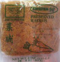 Double Golden Fish Brand Preserved Radish - Pad Thai - Thailand