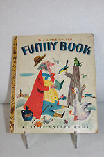 "Little Golden Book ~  #74  THE FUNNY BOOK  1950  ~ ""A"" 1st edition"