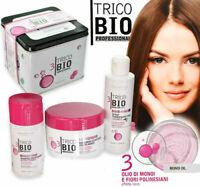 Erboristica Trico BIO Liscio Assoluto Shampoo + Maschera + Spray Termoprotettivo