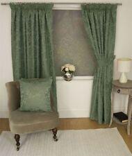 Rideaux et cantonnières vert à motif Floral pour la maison