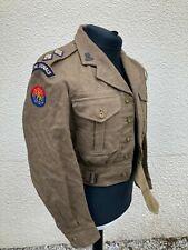 More details for rare royal signals princess louise's kensington regiment battledress jacket