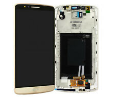 LG Optimus G3 D855 LCD Display Touchscreen Touch Glas Rahmen Gold
