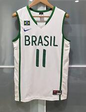 RARE NIKE BRAZIL VAREJAO AUTHENTIC BASKETBALL JERSEY FIBA WBC CAVS WARRIORS S