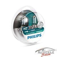 Philips X-tremeVision H7 bis zu 130% mehr Halogenlampe 12972XV+S2 DUO