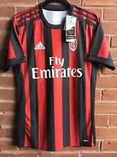 AC Milan 2017/18 Season Jersey, Paolo Maldini #3. Men's Size Medium. Slim Fit