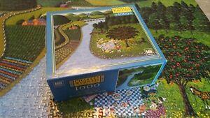 Charles Wysocki Picnic Scene 1000 Puzzle Americana MB 4679-22 2003 Rare Complete