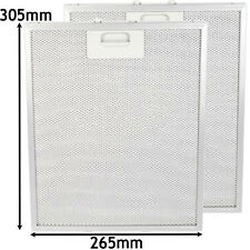 2 x ARTHUR MARTIN Oven Cooker Hood Extractor Vent Grease Filter (265 x 305mm)