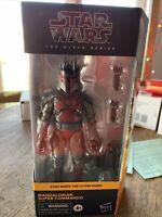 "Hasbro Star Wars The Black Series Mandalorian Super Commando 6"" Action Figure"