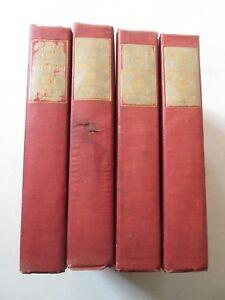 PRIVATE LIFE OF NAPOLEON MEMOIRS OF CONSTANT ANTIQUE 4-VOLUME SET 1907 Bonaparte