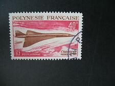 Polynésie  Stamps French Colonies  PA N° 27 oblitéré  C: 41 €  à voir
