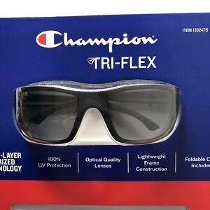 Champion Sunglasses Polarized Tech 100% UV Protection Optical Quality Lenses NEW