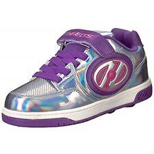 New Heelys X2 Plus Light Up Shoes - Silver / Purple / Pink