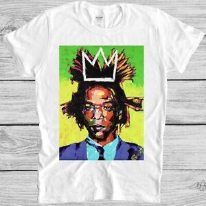Jean Michel Basquiat T Shirt Graffiti Artist Art Vintage Cool Gift Tee M178