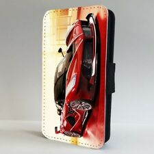 Super Car Red Racing Sports Car FLIP PHONE CASE COVER for IPHONE SAMSUNG