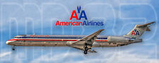 American Airlines McDonnell Douglas MD-82 Photo Magnet (PMT1513)