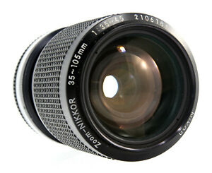 Nikon Zoom-Nikkor 35-105mm 1:3.5-4.5 AIs Objektiv // Lens - 34287