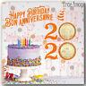 2020 Happy Birthday Gift 6-coin Set $2,specially struck $1,$1,25c,10c,5c Canada