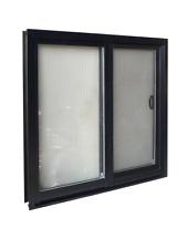 Black Sliding Window 1200hx1800w perfect for  granny flat extension double glaze